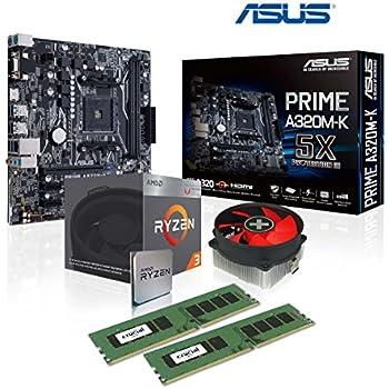 AMD Athlon X4 950 / ASUS PRIME A320M-K Mainboard Bundle: Amazon de