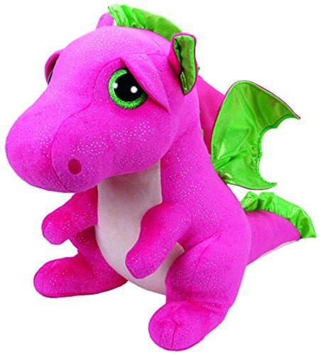 "Beanie Boo Dragon - Darla - Pink - 42cm 16"""