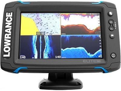 Lowrance 000-12416-001 Mapas/buscador de los pescados Elite-7ti
