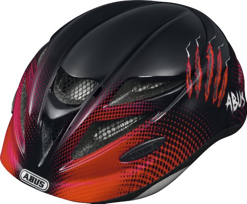ABUS 114809 - HUBBLE_RED_SCRATCHES_M CASCO HUBBLE COLOR RED SCRATCHES TALLA M