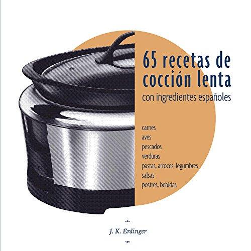 Portada del libro 65 recetas de cocción lenta de J Erdinger