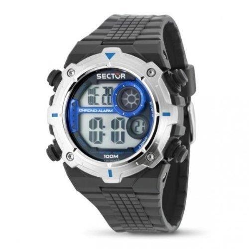 Sector R3251172030 - Reloj con correa de caucho para hombre, color negro / gris