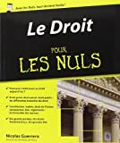 Le Droit pour les Nuls de Nicolas GUERRERO (22 janvier 2015) Broché - 22/01/2015