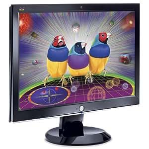 """ViewSonic VX2255wmb Moniteur LCD 22"""" (55cm) Wide Webcam int égr ée 5ms 1680X1050 280cd/m2 700:1 DVI-D Noir"""