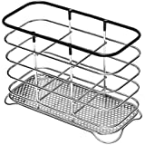 Image of Addis Wire Cutlery Holder, Chrome Black - Comparsion Tool