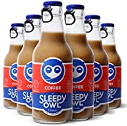 Sleepy Owl Classic | Set of 6 Bottles | Iced Coffee | 100% Arabica Cold Brew | Ready to Drink | Real Ingredien