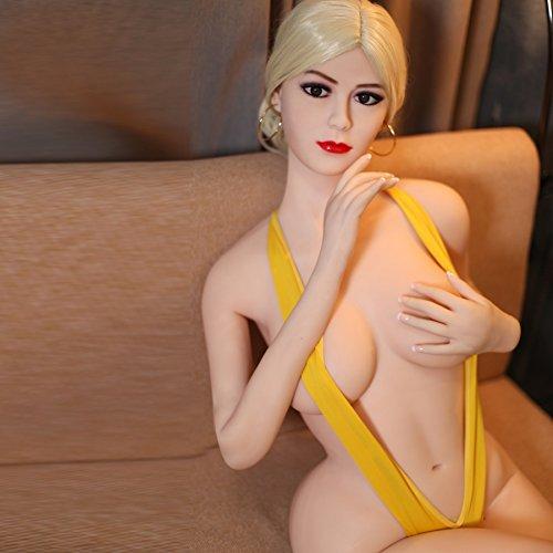 166cm Sexpuppe Liebe Puppe Sex Doll,3 Öffnungen Liebespuppe Sextoys Masturbator für Männer