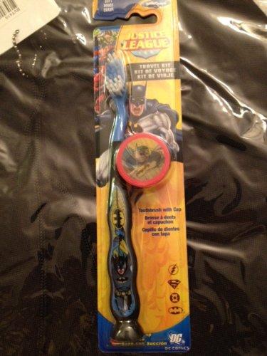 Higiene Dental y Tiritas 92009 - Cepillo de dientes con tapa Batman