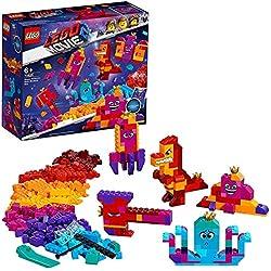 LEGO Película 2 - Caja construye lo que sea de la Reina Soyloque, juguete creativo de construcción de las aventuras de Watevra Wa'Nabi (70825)