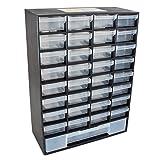 Pro TackleSortimentsbox / Kleinteilemagazin mit 33 Schubladen
