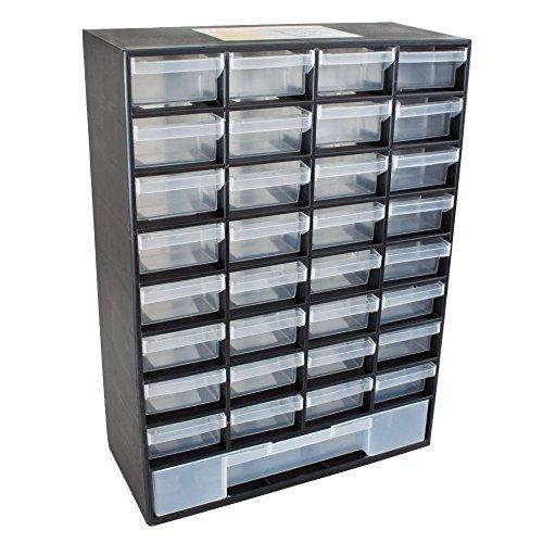 Preisvergleich Produktbild Pro TackleSortimentsbox / Kleinteilemagazin mit 33 Schubladen