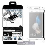 1st Film de protection d'écran en Verre trempé pour Huawei P8 Lite 4G Transparent