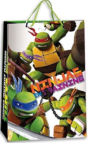 Teenage Mutant Ninja Turtles Geschenke Tüte klein Schwarz