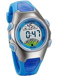 12405f7a19ed JewelryWe Relojes para Niños Niñas Reloj Deportivo Digital Para Aire Libre  Reloj Infantil De Colores Dibujos