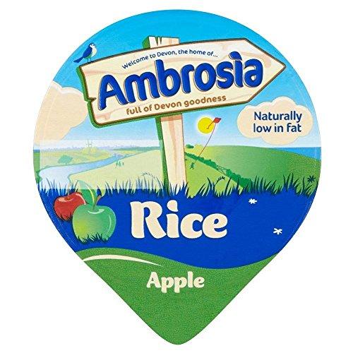 Ambroisie Riz Au Lait Pomme (120G)