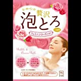 【まとめ買い】お湯物語 贅沢泡とろ 入浴料 フェミニンローズの香り 1包・30g ×2セット