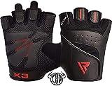 RDX Fitness Handschuhe Trainingshandschuhe Handgelenkstütze Sporthandschuhe Gewichtheben Workout...