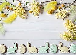 """Tischsets I Platzsets - Ostern - """"Schönes Osterarrangement mit Zuckergebäck auf hellem Holztisch"""" - 12 Stück in hochwertiger Aufbewahrungsmappe"""