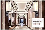 Nodark Deckenleuchte LáMpara De Pared Sala De Estar Dormitorio Apliques De IluminacióN Moderno Sencillo Hotel IngenieríA Especialidad E IluminacióN Decorativa CláSico Hierro Escalera Pasillo Luces DESPERT , large