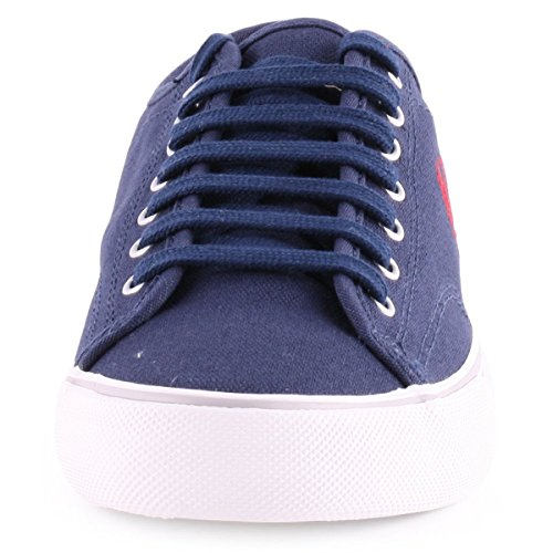 Fred Perry Ridley Canvas Carbon Blue Bleu