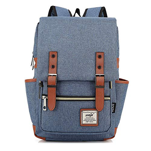 017d1f9369d Amayay Daypacks Erwachsene Stylisch Vintage Backpack  028 Laptop Bag 15Inch  Casual Einfacher Stil Unisex Waterproof