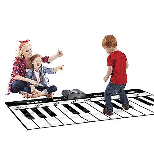 Voolok 8 Verschiedene Musikinstrumenten-Optionen Bodentastatur, Vier Spielmodi, Puzzle-Früherziehung, Sicherheit und Umweltschutz, für Party im Freien