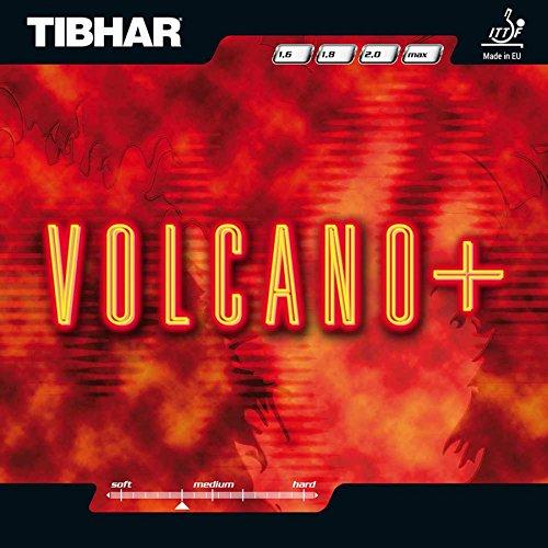 Tibhar Belag Volcano Plus, 2,3 mm, rot