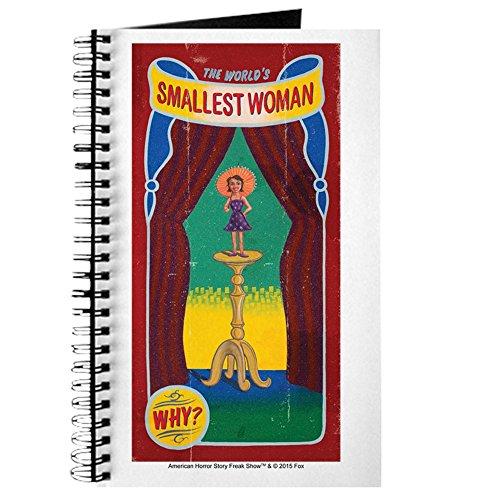 CafePress - AHS Freak Show Mon Petite - Spiralgebundenes Tagebuch, persönliches Tagebuch, Punktraster