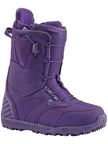 Burton 10627101017Bottes de snowboard pour femme, Taille 43, Noir / menthe Feelgood purple