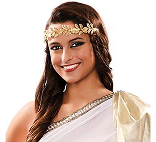 Schmuck Römischen Kostüm - EUROCARNAVALES Diadem römischer Kopfschmuck Damen Schmuck Antike Kostüm Zubehör Karneval