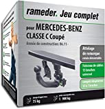 Attelage rotule démontable pour MERCEDES-BENZ CLASSE C Coupé + faisceau 13 broches...