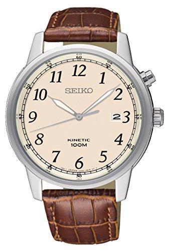 Kinetik Uhr mit Leder Armband SKA779P1 ()