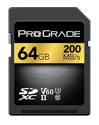 ProGrade Digital Incorporated 64 GB Digitale UHS-II SDXC-Speicherkarte 60 Fuji Digital-kameras