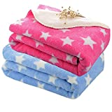 #10: My Newborn Soft Flannel Blanket Wrappers for Babies-Combo, Sky and Pink (Pack of 2)
