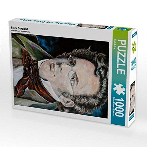 Franz Schubert 1000 Teile Puzzle hoch