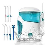 Ikeepi Idropulsore Dentale Orale Professional Care per Igiene Orale Irrigatore Ricaricabile con 7...