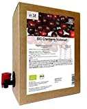 BIO Cranberry Muttersaft - 100% Direktsaft 3 Liter (Bild: Amazon.de)