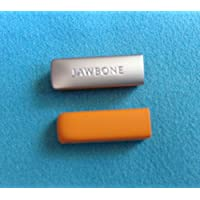 2pcs Replacement Orange End Caps Covers for Jawbone UP 2 2nd Gen 2.0 Bracelet Band Cap Dust Protector (not for the 1st Gen) - Cap Gen 2 Lp