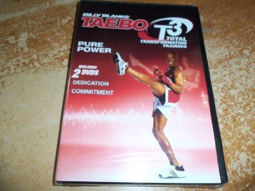 Preisvergleich Produktbild Billy Blanks TAEBO T3 - Dedication and Commitment DVD by Billy Blanks