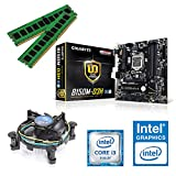 one Aufrüstkit · Intel Core i3-6100, 2 x 3.70GHz · Intel HD 530 · 16 GB DDR4 RAM · Gigabyte GA-B150M-D3H · Skylake · Aufrüstset · Mainboard Bundle · PC Tuning Kit