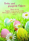 Osterkarte Frohe und gesegnete Ostern (6 Stck)