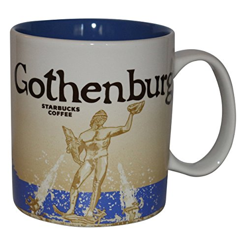 Starbucks City Mug Göteborg Gothenburg Schweden Kaffeetasse -