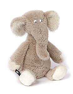 Sigikid ACH Goood! Elefante Poliéster Gris - Juguetes de Peluche (Elefante, Gris, Poliéster, 1 año(s), Elefante, 8 año(s))