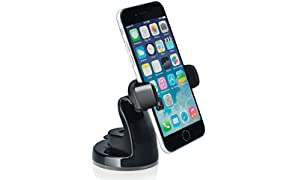 Osomount SMART NFC Mount Universal in Car Holder for iPhone 6/6 Plus/5s/5c/4/4s Samsung Galaxy S6/S5/S4/S3/Note 4/3 & Other Smartphones - Black