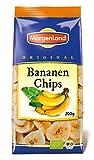 MorgenLand Bio-Bananen Chips, 4er Pack (4 x 200 g)