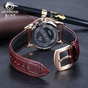 Reloj ochstin ocio hombres y mujeres Suiza impermeable Pareja Relojes por wexe.com