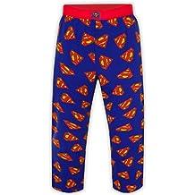 DC Comics - Pantalones de pijama oficiales - Para hombre - Batman, Superman