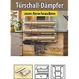 Prox cajones de amortiguador de 3er Set, armario de amortiguador de puerta para tornillos o fría, varios coloures disponibles