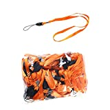 50 Pieces Orange Neck Strap Lanyard LO001 Ideal for Name and ID