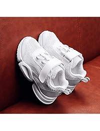 separation shoes f95eb ce123 Aegilmc Garçons Sport Baskets Enfants Baskets Running Chaussures Respirant  Léger Athlétique Casual Velcro ...